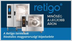 Retigo kombi párolók - érdeklődjön a részletekről!